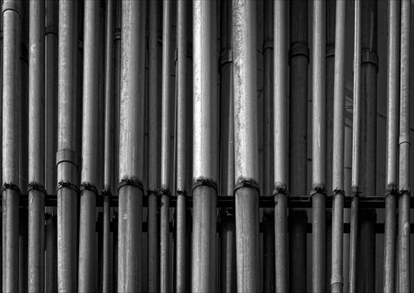 Pipes Art Print featuring the photograph Pipes by Robert Ullmann
