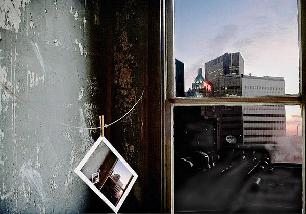 Window Art Print featuring the photograph Pre-visualization by Peter J Sucy