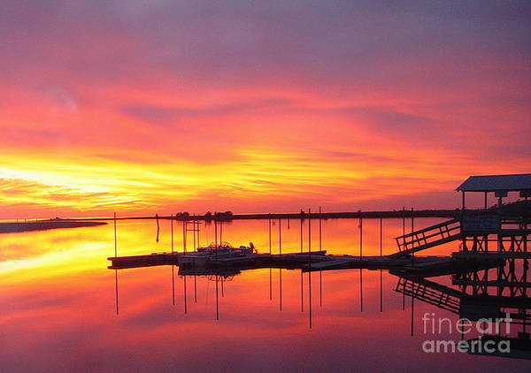 Sunsets Art Print featuring the photograph Seeing Is Believing by Debbie May