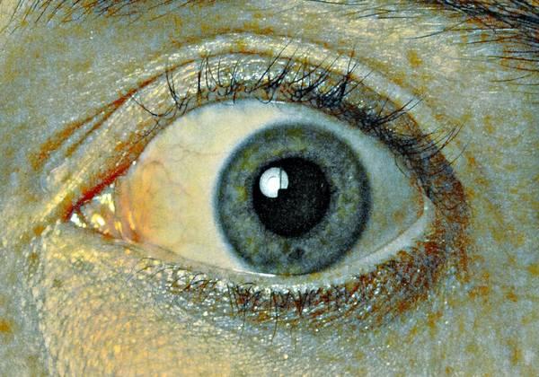Eye Art Print featuring the photograph Silverado by Qb Whitener
