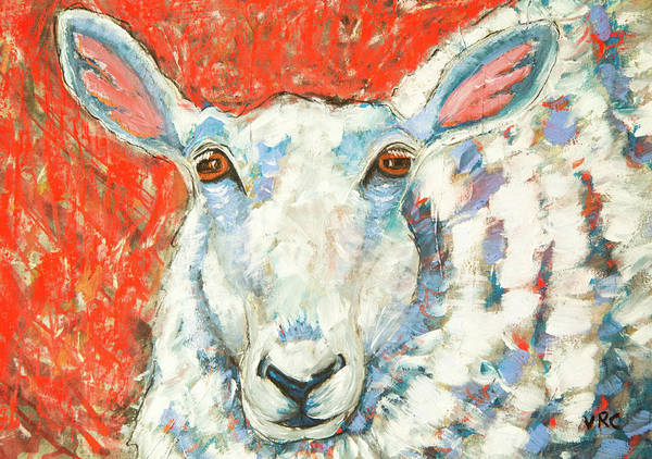 Sheep Art Print featuring the photograph Sweet Sheep by Natalie Rotman Cote