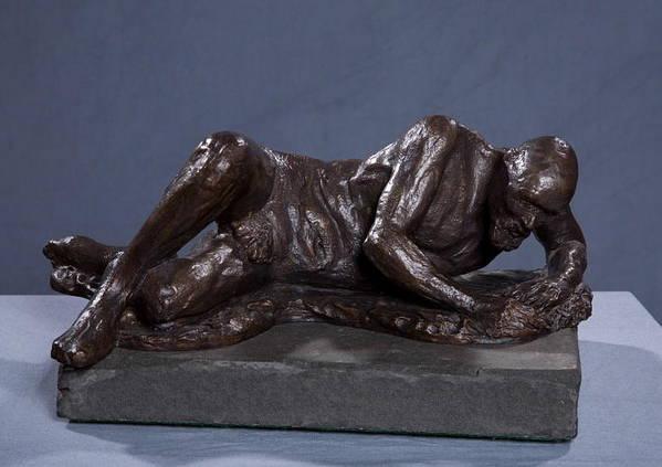 Bronze Sculpture Art Print featuring the sculpture The Modern Galacian by Dan Earle