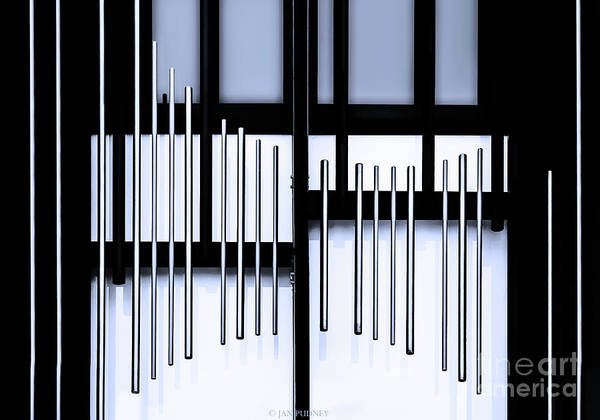 Architecture Art Print featuring the photograph Tubes by Jan Pudney