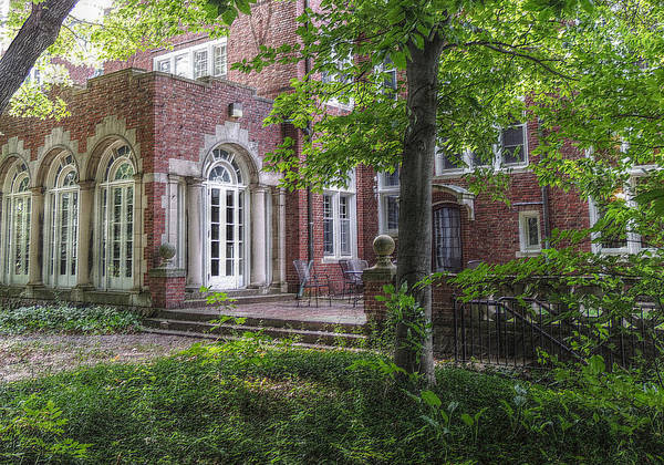 Woods Art Print featuring the photograph Wooded Manor by Shon Saylor