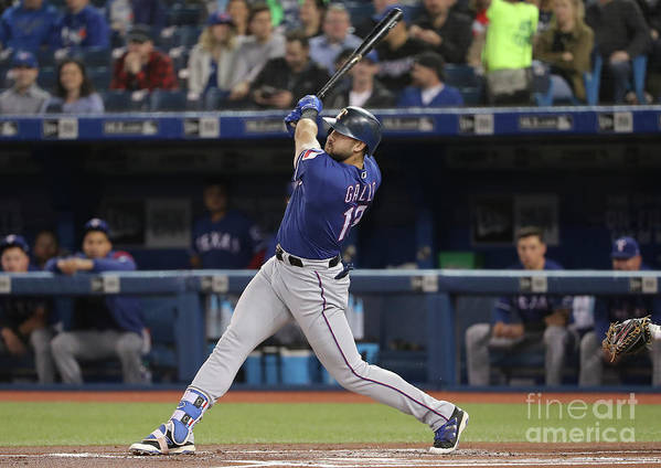 People Art Print featuring the photograph Joey Gallo by Tom Szczerbowski