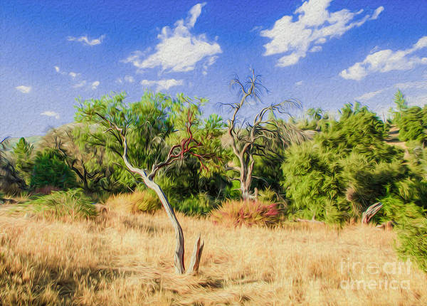 Outdoors Art Print featuring the digital art A Place Of Serenity 3 by Kenneth Montgomery