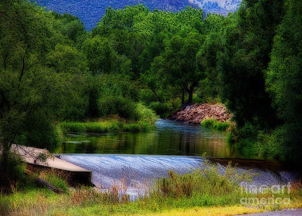 Big Thompson River Print featuring the photograph After Rain by Jon Burch Photography
