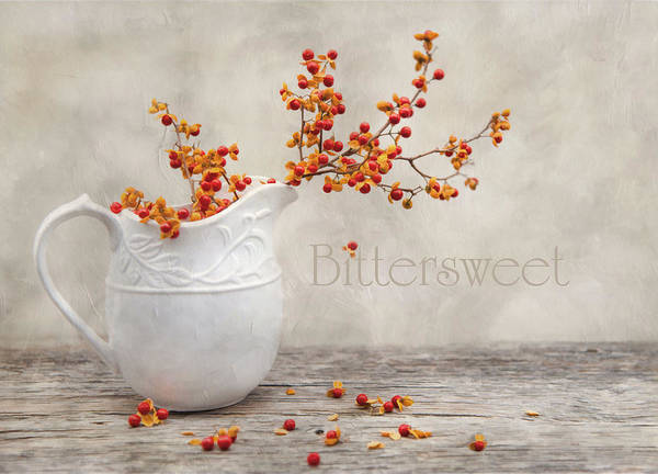 Bittersweet Print featuring the photograph Bittersweet by Robin-Lee Vieira