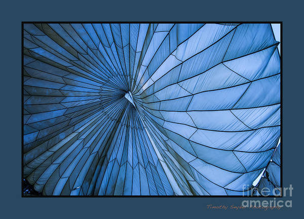 Timothy Snyder Art Print featuring the photograph Blue Event by Timothy Snyder