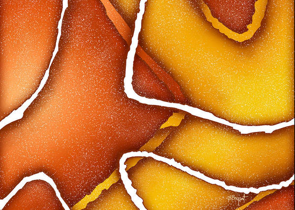 Candy Art Print featuring the painting Candy Corn by Brenda Bryant