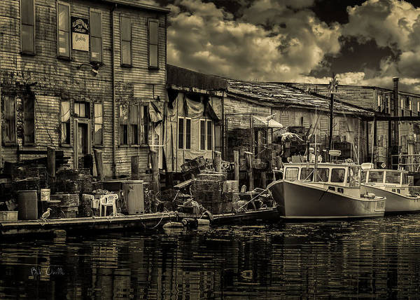 Dock Print featuring the photograph Dockside by Bob Orsillo