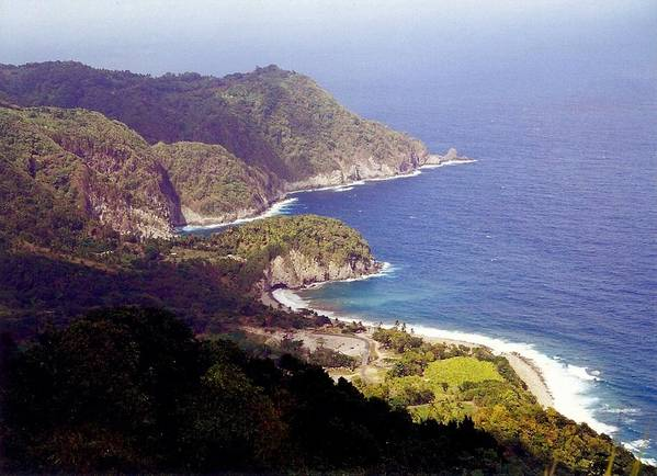 Dominica Art Print featuring the photograph Dominica Coast Line by Denise Moore