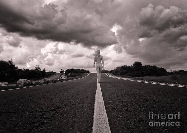 Adult Print featuring the photograph My Own Destiny by Stelios Kleanthous