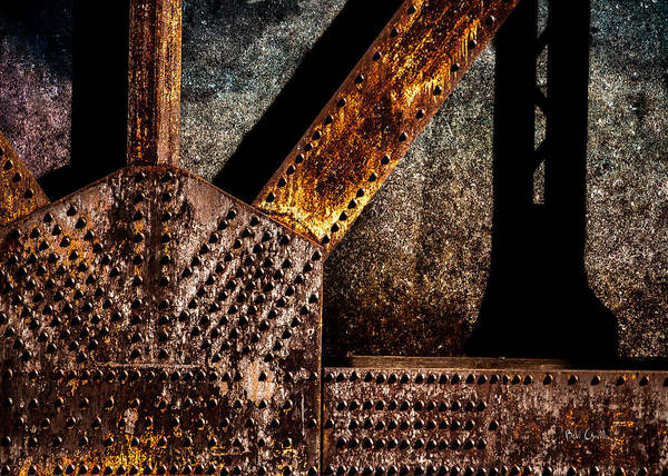 Rivets Art Print featuring the photograph Rivets by Bob Orsillo