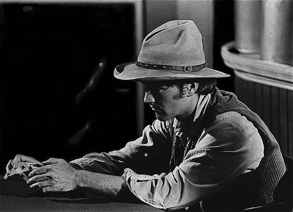 Robert Walker Jr The War Wagon Homage Young Billy Young Set Old Tucson Arizona Billy The Kid Art Print featuring the photograph Robert Walker Jr The War Wagon Homage 1967 by David Lee Guss
