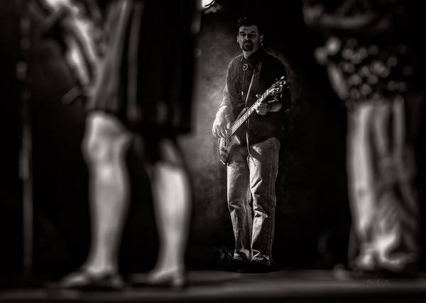 Bass Art Print featuring the photograph The Bassist by Bob Orsillo