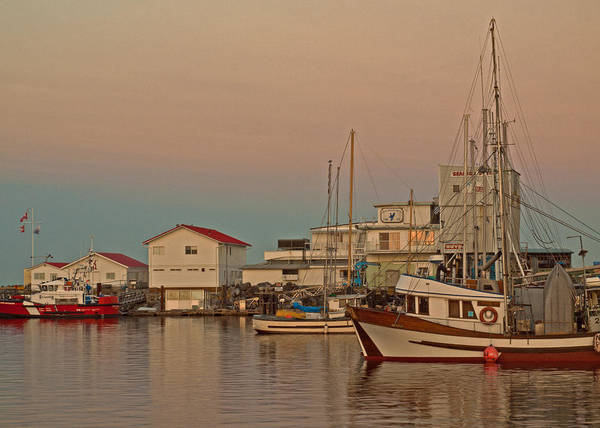 Fishing Boat Print featuring the photograph Twilight by Randy Hall