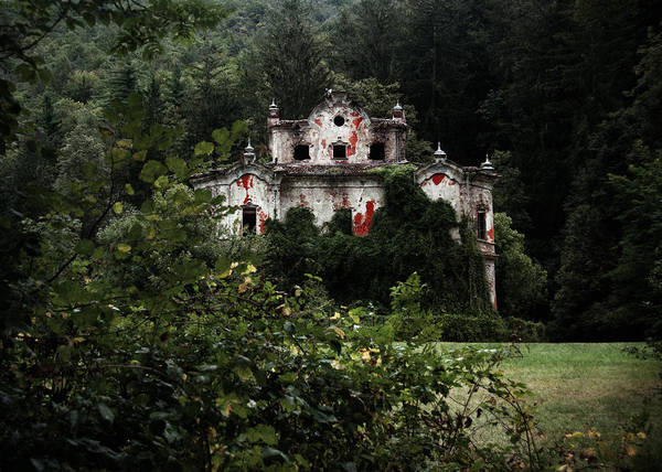 Haunted Art Print featuring the photograph Villa De Vecchi by Laura Melis