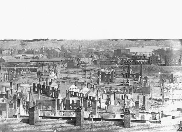 1865 Art Print featuring the photograph Civil War: Richmond by Granger