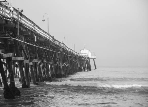 San Clemente Art Print featuring the photograph San Clemente Pier by Ralf Kaiser