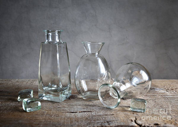 Glass Print featuring the photograph Glass by Nailia Schwarz