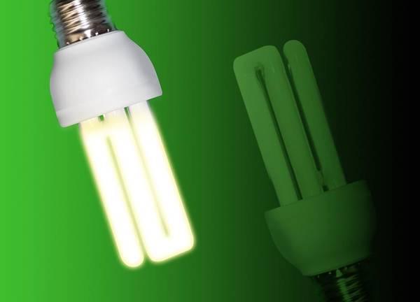 Light Bulb Art Print featuring the photograph Energy-saving Light Bulbs, Artwork by Victor Habbick Visions
