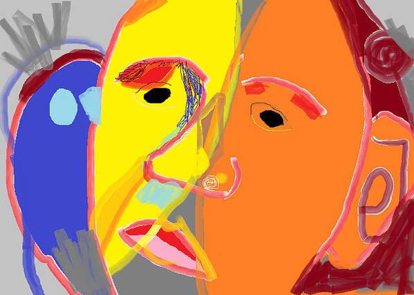 Obama 2 Art Print featuring the digital art Obama 2 by Anita Dale Livaditis