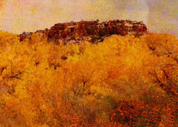 Landscape Art Print featuring the photograph October by Ann Powell