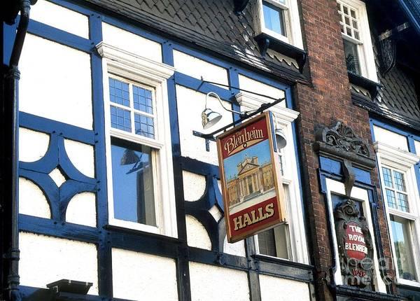 The Blenheim Pub Art Print featuring the photograph The Blenheim by Anne Gordon