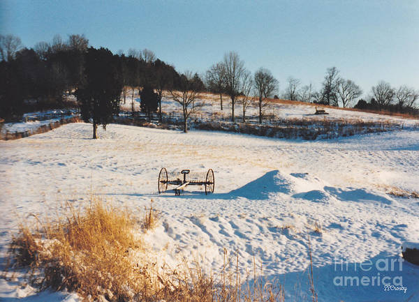 Winter Art Print featuring the photograph Winter In Granville Tennessee by Susan Stevens Crosby