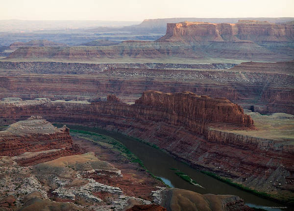 U.s.a. Art Print featuring the photograph Dead Horse Point by Luigi Barbano BARBANO LLC