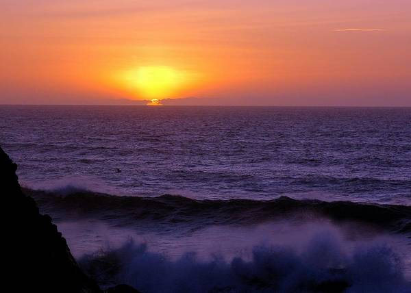 Sun Art Print featuring the photograph Oregon Sunset by Scott Gould