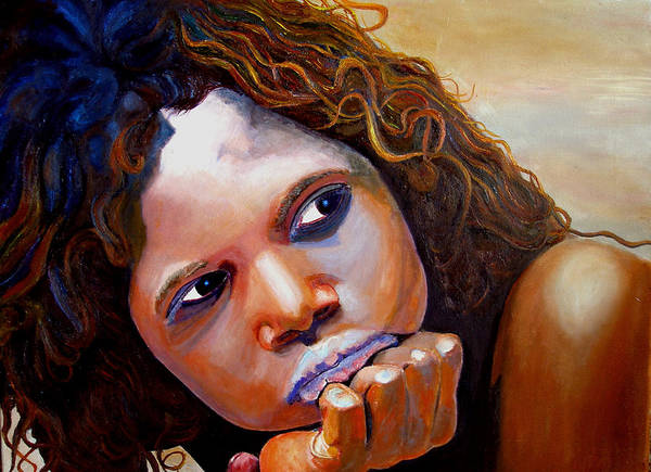 Austrailia Art Print featuring the painting Outback Beauty by JoeRay Kelley