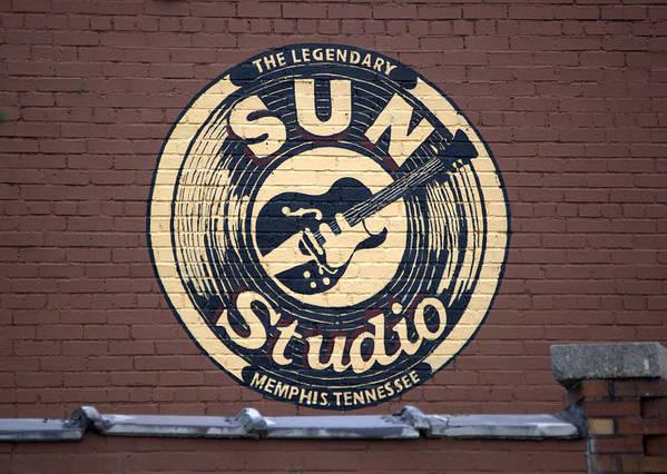 Sun Studio Art Print featuring the photograph Sun Studio Memphis Tennessee by Wayne Higgs