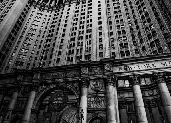 New York City Art Print featuring the photograph Nyc Buildings by Patrick Flynn