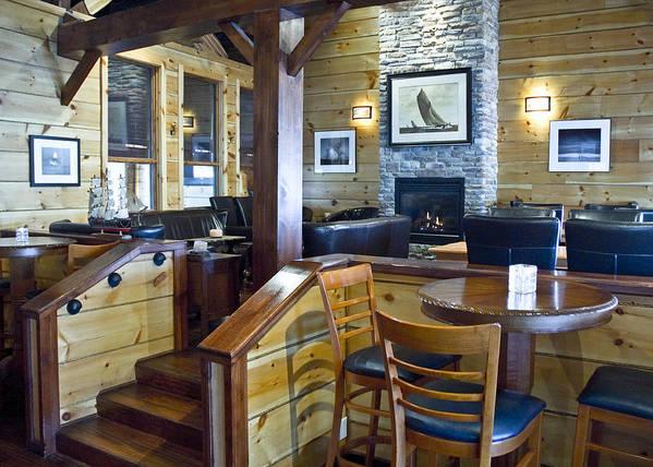 Restaurant Art Print featuring the photograph Boathouse Restaurant by Michael Rutland