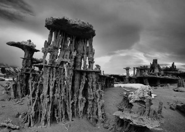 Eastern Sierra Art Print featuring the photograph Castles Made Of Sand by Chris Morrison