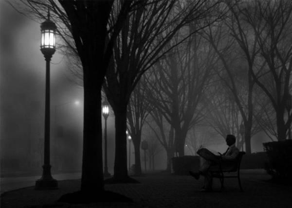 Night Art Print featuring the photograph Darkness Falls by Lori Deiter
