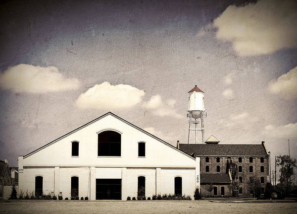 Indiana Art Print featuring the photograph Indiana Warehouse by Amber Flowers