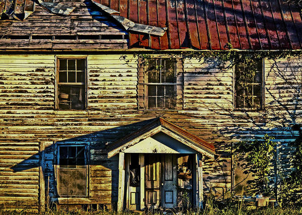 Old Buildings Art Print featuring the photograph Nc 57 by David A Brown