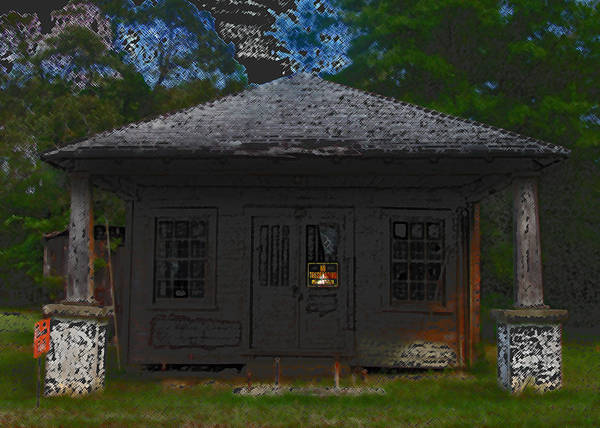 Old Building Art Print featuring the photograph Old 86 2 by David A Brown