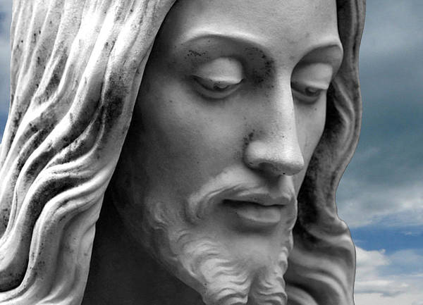 Jesus Print featuring the photograph Quiet Time by Munir Alawi