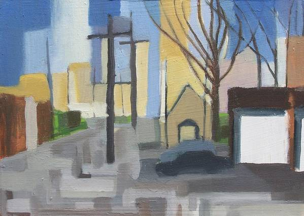 Painting Art Print featuring the painting Ridgefield Again by Ron Erickson