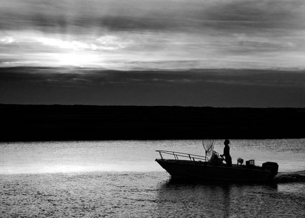 Sunset Art Print featuring the photograph Sunset Cruise by William Haney