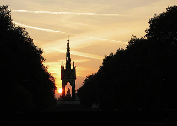 Hyde Park Art Print featuring the photograph Sunset In Hyde Park by David L Griffin