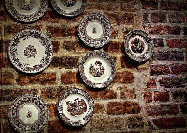 Tiole Art Print featuring the photograph Tiole Plates by JAMART Photography