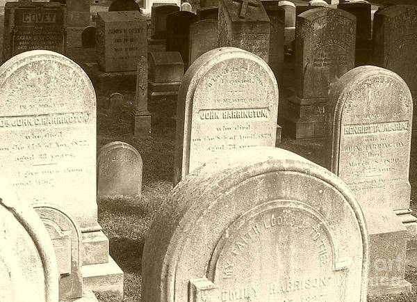 Cemetery Art Print featuring the photograph Welcome by Debbi Granruth