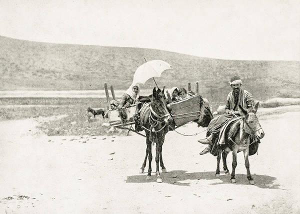 Traveling in Galilee 1894 by Munir Alawi
