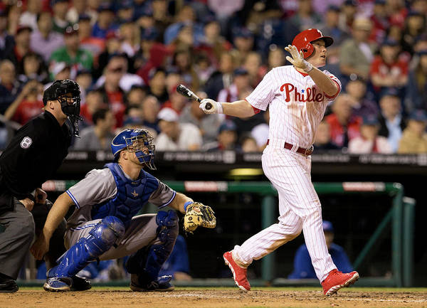 Majestic Art Print featuring the photograph Cody Asche by Mitchell Leff