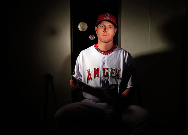 Media Day Art Print featuring the photograph Josh Hamilton by Jamie Squire